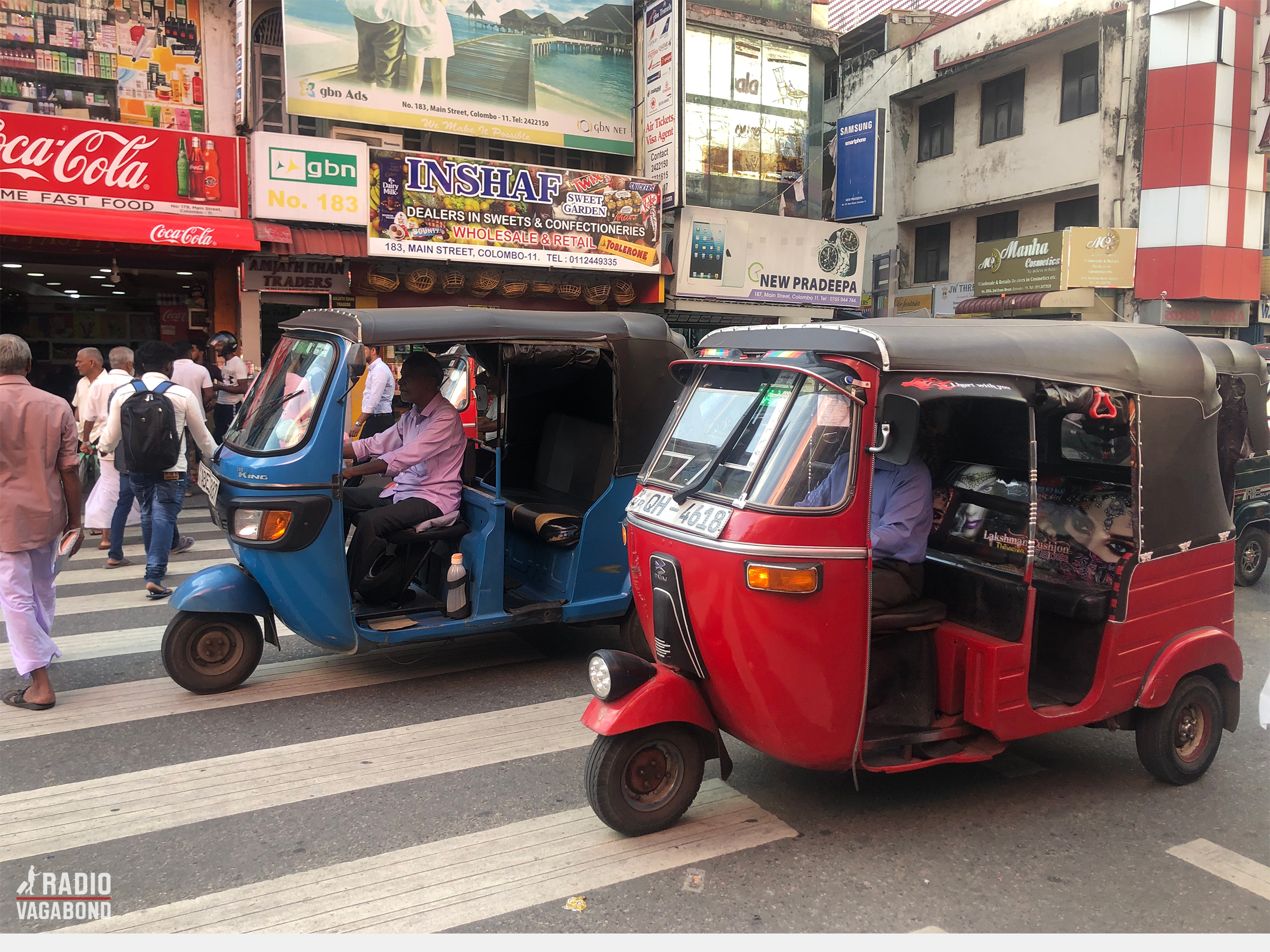 TukTuk in Colombo