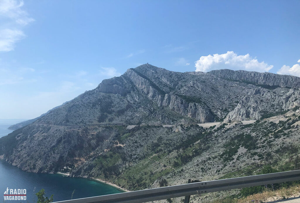The drive from Mostar to Split was beautiful.
