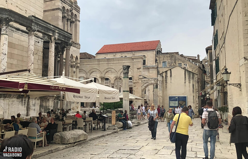 You find a lot of wonderful restaurants and cafés in Split.