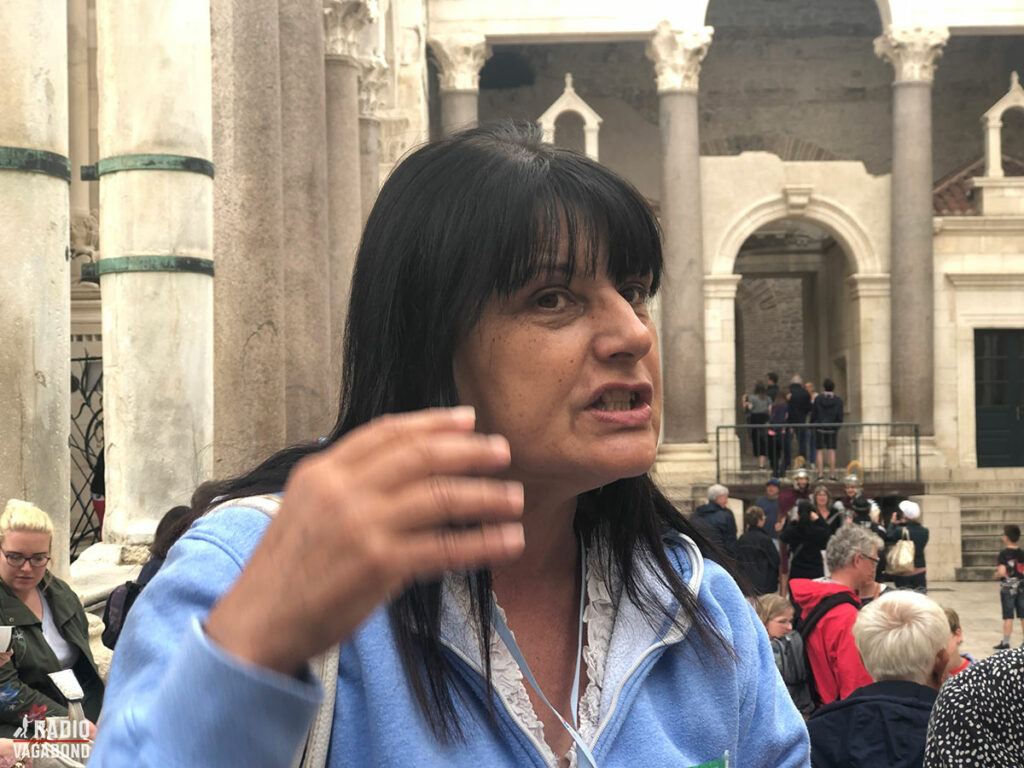 My guide on the Free Walking Tour knows a lot about Split
