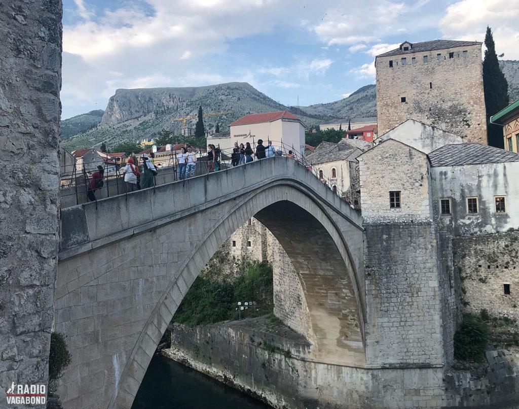 The rebuilt Stari Most Bridge in Mostar