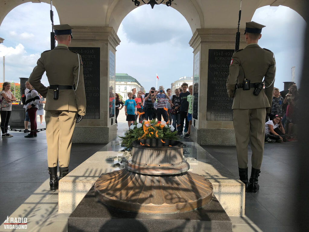 Tomb of Unknown Soldiers Monument is a historical and important place for Poles. It's guarded by two soldiers and every second hour you can watch the change of guards.