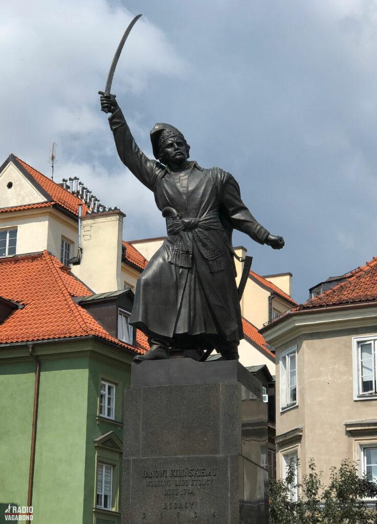 Statue of Pomnik Jana Kilińskiego