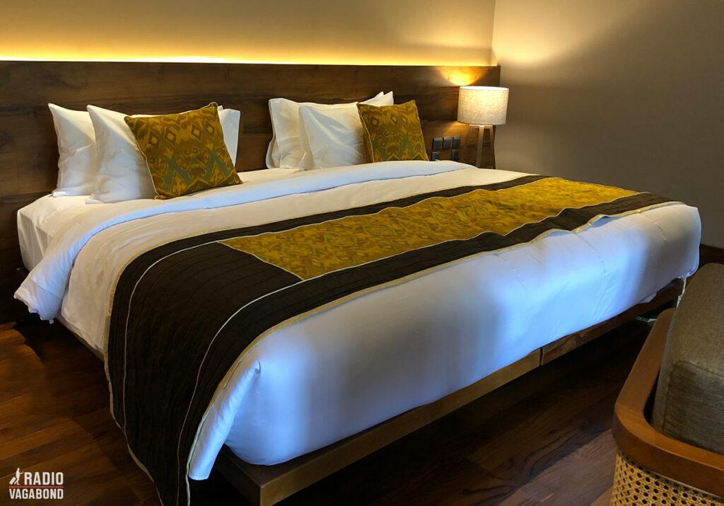 My 3 meter wide bed