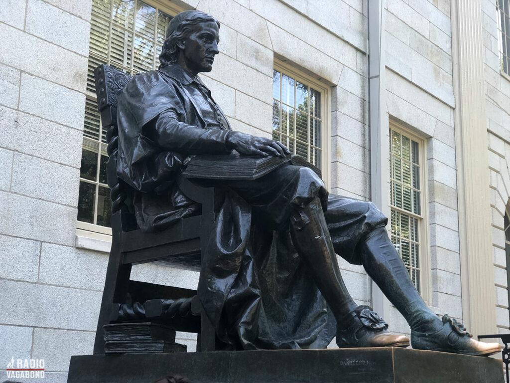John Harvard founded the University in 1636