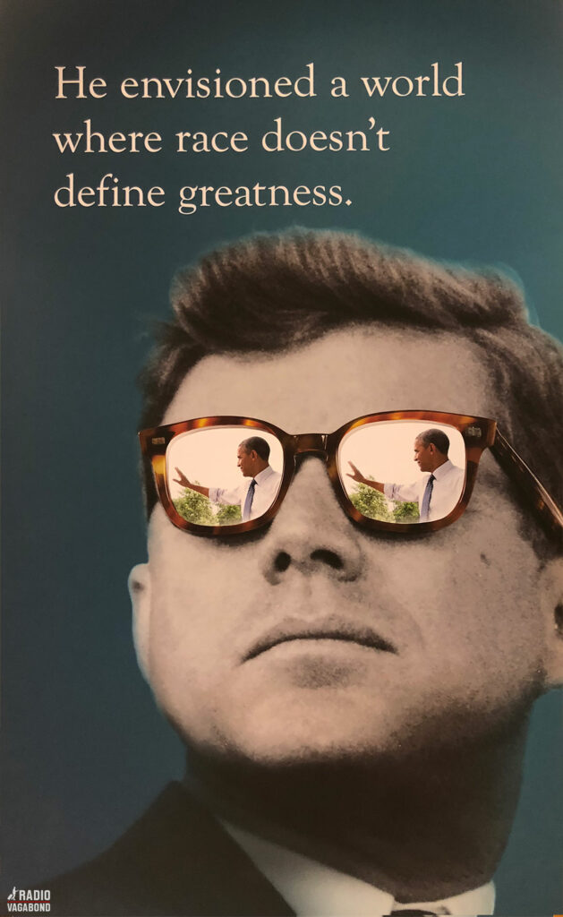 JFK envisioned the future
